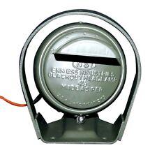 "HQ BLACKOUT DRIVE HEAD LAMP  4.5"" LIGHT & BRACKET SET -WILLYS MB FORD GPW"