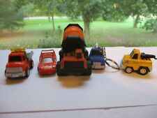 Tonka 1992 Cement Mixer, Hot Wheels Ferrari 1988, Dil truck and 2 other trucks