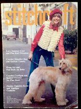 Vintage Stitchcraft Magazine. April 1972