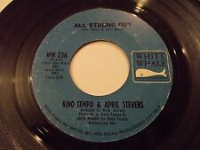 Nino Tempo & April Stevens All Strung Out / I Can't Go On 45 1966 Vinyl Record
