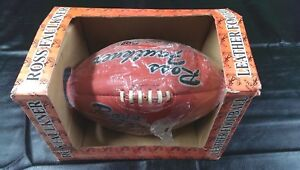 Ross Faulkner Supa Goal Leather Football - New Old Stock - in box