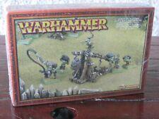 Warhammer Orcs and Goblins Grot Goblin Rock Lobber Lobba Metal New Age of sigmar