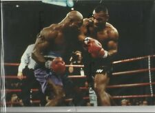 Mike Tyson v Evander Holyfield unsigned photo 12x8 Ref:1177
