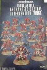 Warhammer 40K BLOOD ANGELS ARCHANGELS ORBITAL INTERVENTION FORCE, 15 Terminators