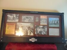 Beautiful Harley Davidson Display Plaque Shadowbox  Wall Display 2011 Racing