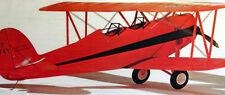 """Sterling GREAT LAKES TRAINER PLAN + Bonus PLAN to Build a 39"""" UC Model Airplane"""