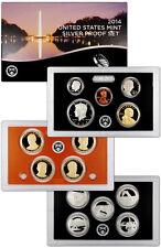 2014-S United States US Mint 14 Pc Silver Proof Set (SW1) SKU31513
