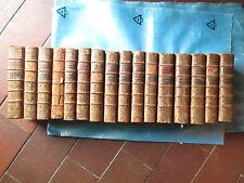 GEOFFROY / JUSSIEU : HISTOIRE NATURELLE / MATIERE MEDICALE, 1756. 16 volumes