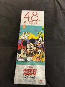 "Disney Mickey Mouse & Friends Puzzle 48 Piece NEW Sealed 9.1"" x 10.3"" Minnie"