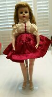 "Vintage Valentine 17 VW Doll 18"" Jointed at knees and feet .  Comes with Stand"