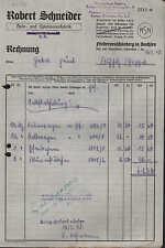 NIEDERNEUSCHÖNBERG Sa., Rechnung 1948, Holz- u. Spielwaren-Fabrik R. Schneider