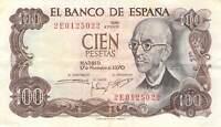 Spain 100 Pesetas 1970 - Free to Combine Low Shipping
