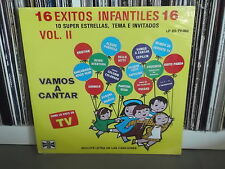 V.A VAMOS A CANTAR 15 Exitos infantiles     CHABELO, HELLO KITY   LP SEALED NEW