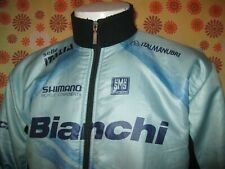 Ancienne VESTE HIVER SMS SANTINI BIANCHI SELLE ITALIA TXL Cycling Team Maillot