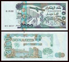 Argelia - Algeria  2000 Dinars  24-1-2011  Pick 144   SC = UNC