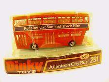 Dinky Toys GB n° 291 Atlantean City bus Kenning car van neuf en boite