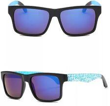 Gafas sol deportivas de pasta Tipo Spy azul y blanco + Funda regalo