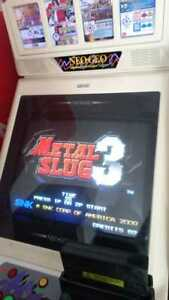 METAL SLUG 3 MVS NeoGeo Cartridge ORIGINAL