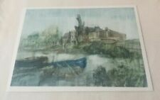 Watercolour Cityscapes Signed Art Paintings