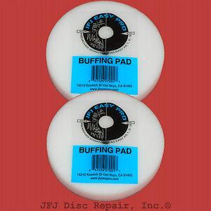 2 JFJ Pro Easy Buffing Pads - Save Money & Use Original Supplies