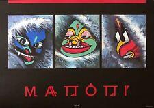 Affiche Offset MATTOTTI Masques 50x70