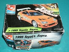 1995 Toyota Supra Fast And The Furious AMT 1/25 Complete & Unstarted.