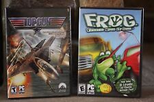 FROG FRANTIC RUSH OF GREEN & TOP GUN (SCREAM THROUGH THE SKIES) PC CD ROM