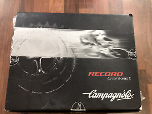 Campagnolo Record 9/10 Speed Triple Cranks Chainset Vintage NOS - Titanium