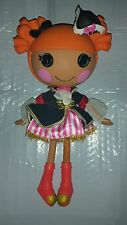Lalaloopsy Peggy Seven Seas Pirate Cute Doll Full Size 13in GUC 34313EGE 09-20