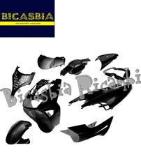 10279 - KIT CARENE SCUDO BAULETTO PARAFANGO NERO APRILIA SR 50 WWW 1997 - 2012