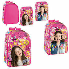 Disney SOY LUNA- 2in1 Designs Large Backpack with Interchangeable Pockets (9595)
