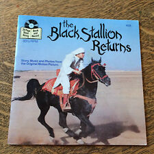 The Black Stallion Returns Read Along Adventure 33 1/2 1983 Disneyland Records