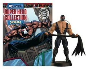 Dc Superhero Collection Bane Eaglemoss Lead Figurine & Magazine Special Batman