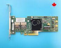 LSI SATA SAS 9240-8i 6Gb PCIe 8 port L3-25083-14A RAID Controller LSI00200 HP LP