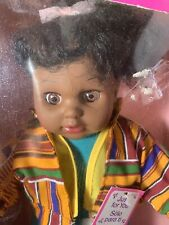Olmec Hip Hop Kids African American Ethnic Girl Doll  Box Vintage 80's 90s