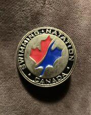 London 2012 Olympic Swimming Canada Pin Badge Natation