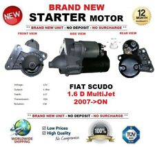 FOR FIAT SCUDO 1.6 D MultiJet 2007-ON STARTER MOTOR 1.4kW 11Teeth BRAND NEW