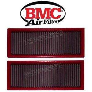 For Mercedes W203 W215 W164 R171 Pair Set Of 2 BMC Air Filters Lifetime FB262/01