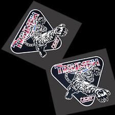 Triumph Tiger Explorer Grafiken Aufkleber X 2 Stück Klein Reflektierende