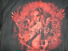 Black Authentic House of Pain Brand Angel Girl  Adult L Tshirt NICE