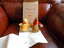 STEIFF   CLUB LIMITED EDITION 2003 HEN & CHICK EGG COSY SET