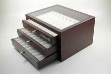 Pelikan Fountain Pen Ballpoint Pen Pens Collector Box Display Case Wood Look New