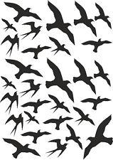 Planche stickers Oiseaux - PL020