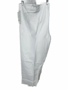 New WS Fundamentals White Nurse Scrub Uniform Pants Size 4 XL Free US Shipping