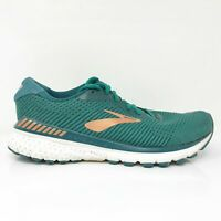 Brooks Womens Adrenaline GTS 20 1202961B346 Green Running Shoes Size 11 B