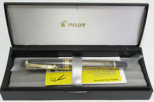 "PILOT ""CUSTOM 823 - Plunger Type / Transparent Brown"" (nib : Fine)"
