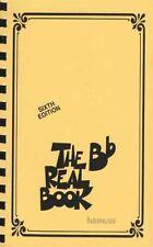 The Bb Real Book Sixth Edition Mini Pocket Music Book Trumpet Tenor Sax Clarinet