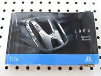 2006 Honda Pilot Owners Manual (book only)             FREE SHIPPING