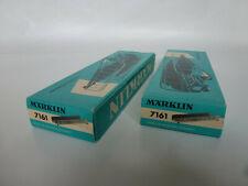 Märklin H0 Vollträgerbrücken 7161 - 2 Stück