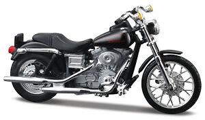 Harley-Davidson 2002 FXDL Dyna Low Rider 1:24 Motorcycle Model Die-Cast
